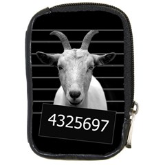 Criminal Goat  Compact Camera Cases by Valentinaart