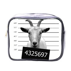 Criminal Goat  Mini Toiletries Bags by Valentinaart