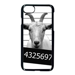 Criminal Goat  Apple Iphone 7 Seamless Case (black) by Valentinaart