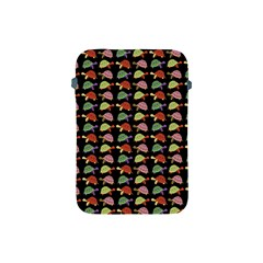 Turtle Pattern Apple Ipad Mini Protective Soft Cases by Valentinaart