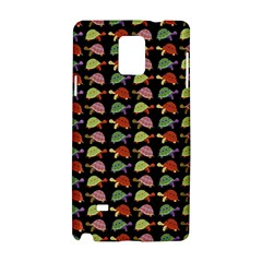 Turtle Pattern Samsung Galaxy Note 4 Hardshell Case