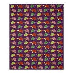 Turtle Pattern Shower Curtain 60  X 72  (medium)  by Valentinaart