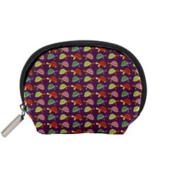 Turtle Pattern Accessory Pouches (small)  by Valentinaart