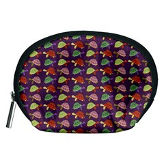 Turtle Pattern Accessory Pouches (medium)  by Valentinaart
