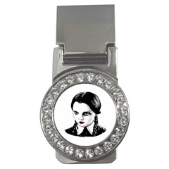 Wednesday Addams Money Clips (cz)  by Valentinaart