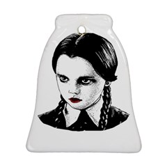 Wednesday Addams Ornament (bell) by Valentinaart