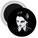 Wednesday Addams 3  Magnets Front