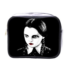 Wednesday Addams Mini Toiletries Bags by Valentinaart
