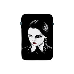 Wednesday Addams Apple Ipad Mini Protective Soft Cases by Valentinaart