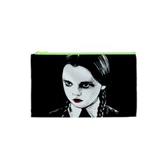 Wednesday Addams Cosmetic Bag (xs) by Valentinaart