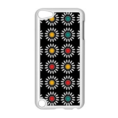 White Daisies Pattern Apple Ipod Touch 5 Case (white) by linceazul