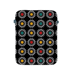 White Daisies Pattern Apple Ipad 2/3/4 Protective Soft Cases by linceazul