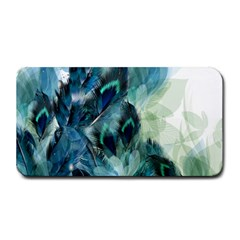 Flowers And Feathers Background Design Medium Bar Mats by TastefulDesigns