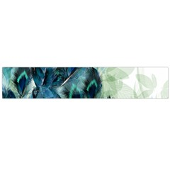 Flowers And Feathers Background Design Flano Scarf (large) by TastefulDesigns