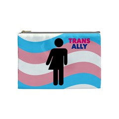 Transgender  Cosmetic Bag (medium)  by Valentinaart