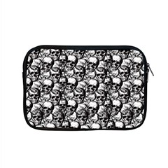 Skulls Pattern  Apple Macbook Pro 15  Zipper Case by Valentinaart
