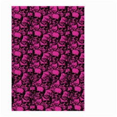 Skulls Pattern  Small Garden Flag (two Sides) by Valentinaart