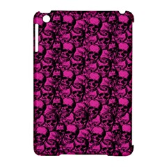 Skulls Pattern  Apple Ipad Mini Hardshell Case (compatible With Smart Cover)