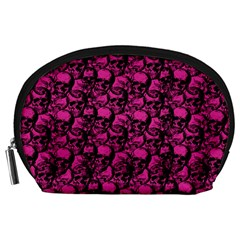 Skulls Pattern  Accessory Pouches (large)  by Valentinaart