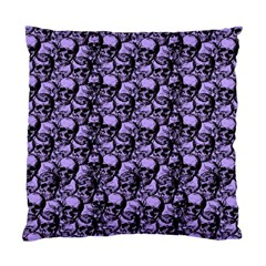 Skulls Pattern  Standard Cushion Case (two Sides) by Valentinaart