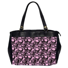Skulls Pattern  Office Handbags (2 Sides)  by Valentinaart