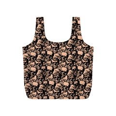 Skulls Pattern  Full Print Recycle Bags (s)  by Valentinaart