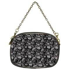 Skulls Pattern  Chain Purses (one Side)  by Valentinaart