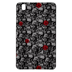 Skulls And Roses Pattern  Samsung Galaxy Tab Pro 8 4 Hardshell Case by Valentinaart