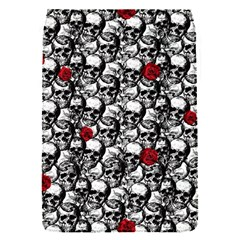 Skulls And Roses Pattern  Flap Covers (s)