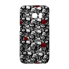 Skulls And Roses Pattern  Galaxy S6 Edge by Valentinaart