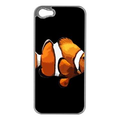 Clown Fish Apple Iphone 5 Case (silver) by Valentinaart