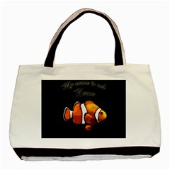Clown Fish Basic Tote Bag (two Sides) by Valentinaart