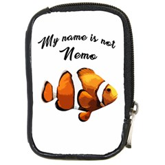 Clown Fish Compact Camera Cases by Valentinaart