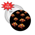 Clown fish 2.25  Buttons (10 pack)  Front