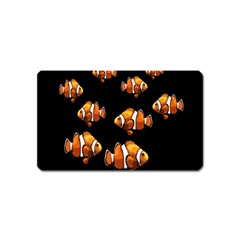 Clown Fish Magnet (name Card) by Valentinaart