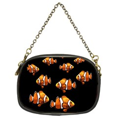 Clown Fish Chain Purses (two Sides)  by Valentinaart