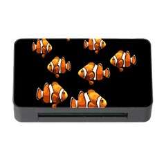 Clown Fish Memory Card Reader With Cf by Valentinaart