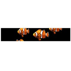 Clown Fish Flano Scarf (large) by Valentinaart