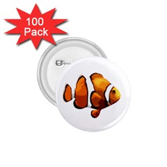 Clown Fish 1 75  Buttons (100 Pack)  by Valentinaart
