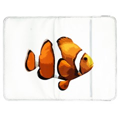 Clown Fish Samsung Galaxy Tab 7  P1000 Flip Case by Valentinaart