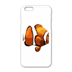 Clown Fish Apple Iphone 6/6s White Enamel Case