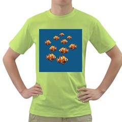 Clown Fish Green T Shirt