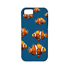 Clown Fish Apple Iphone 5 Classic Hardshell Case (pc+silicone) by Valentinaart