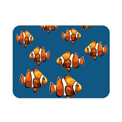 Clown Fish Double Sided Flano Blanket (mini)