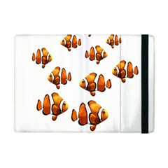 Clown Fish Apple Ipad Mini Flip Case by Valentinaart