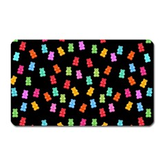 Candy Pattern Magnet (rectangular) by Valentinaart