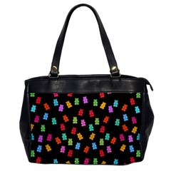 Candy Pattern Office Handbags
