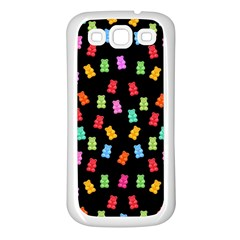 Candy Pattern Samsung Galaxy S3 Back Case (white)