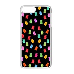 Candy Pattern Apple Iphone 7 Plus White Seamless Case