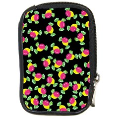 Candy Pattern Compact Camera Cases by Valentinaart